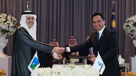 Saudi Aramco, Petronas Sign Share Purchase Agreement For Equity Participation In Rapid Downstream Project