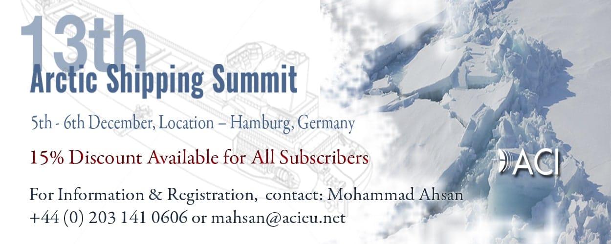 13th Arctic Shipping Summit