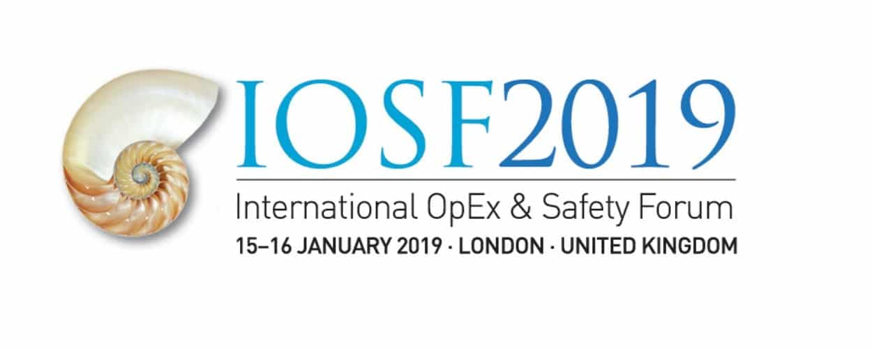 IOSF 2019 – International OpEx & Safety Forum