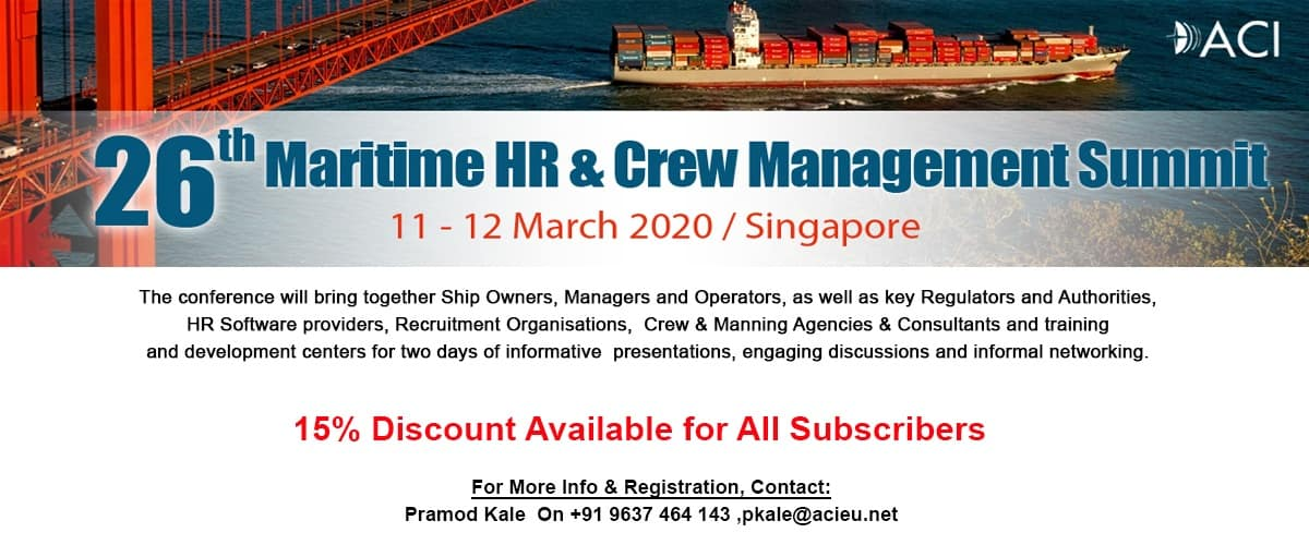 26th Maritime HR & Crew Management Summit