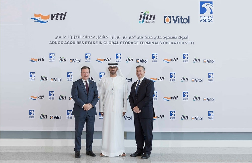 ADNOC acquires stake in VTTI owner of storage terminals in